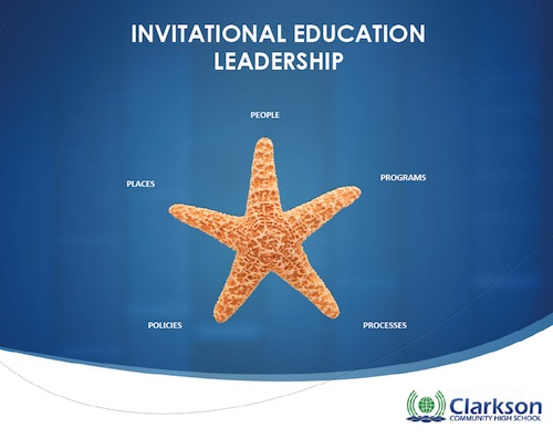 Invitational Education Leadership At Clarkson Community High School
